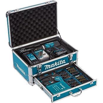 Makita DHP453RYX2 Trapano avvitatore a percussione, 2 batterie 18 V / 3 Ah