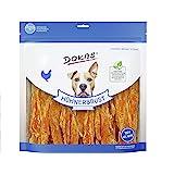 Dokas, snack premium senza cereali, a strisce, per cani, ideale per uso intermedio