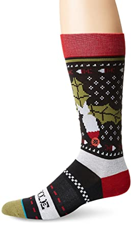 Stance Missle Toe 2 Socks - Black Medium