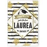 Biglietto Auguri Classico Laurea (GOLD STAR)