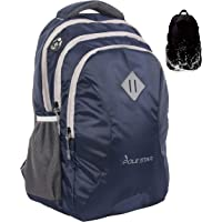 """Polestar Leader 34 Liters Polyester Navy 15.6"""" Casual Laptop Bag/Backpack With Rain Cover"""