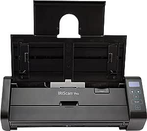 Iris Iriscan Pro 5 Duplex Adf20 Seiten Scanner 25ppm Usb3 0 Netzbetrieb Buttonmanager Mit Smartfunktion Inkl Softwarepack