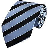 Fabio Farini - Elegante cravatta da uomo in 8cm di larghezza in diversi colori per ogni occasione come matrimonio, cresima, b