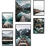 Heimlich® Tableau Décoration Murale - sans Cadres - Set de Poster Premium pour la Maison, Bureau, Salon, Chambre, Cuisine - 2