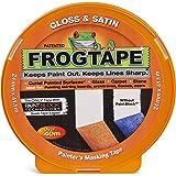 Frog Tape Oranje Glans & Satijn Schilders Afplakband 24mm x 41.1m, Indoor Schilderen en Decoreren Voor Scherpe Lijnen en Geen