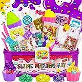 COOLJOY Kit de Slime, DIY Slime Set, Slime Kit, Original Stationery Slime con Activador de Arcilla, Slime para Niñas Edulcora