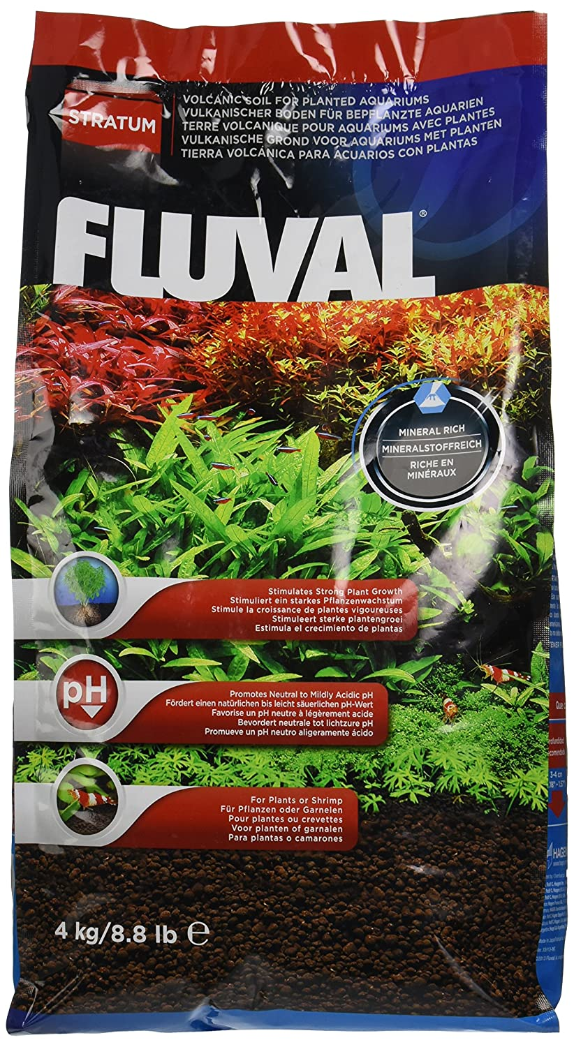 Fluval Plant U0026 Shrimp Stratum Aquarium Substrate 4kg: Amazon.co.uk: Pet  Supplies