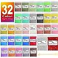 Mica-poeder 32 kleuren (5g / 0,17 oz, totaal 160 g / 5,44 oz), JEMESI Natuurlijke Pigmenten Glitter Epoxyharsverf Voor Zeep M