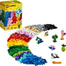 LEGO 11016 Classic Creative Building Bricks Box Large Set with Space Shuttle for Preschool Kids 4+