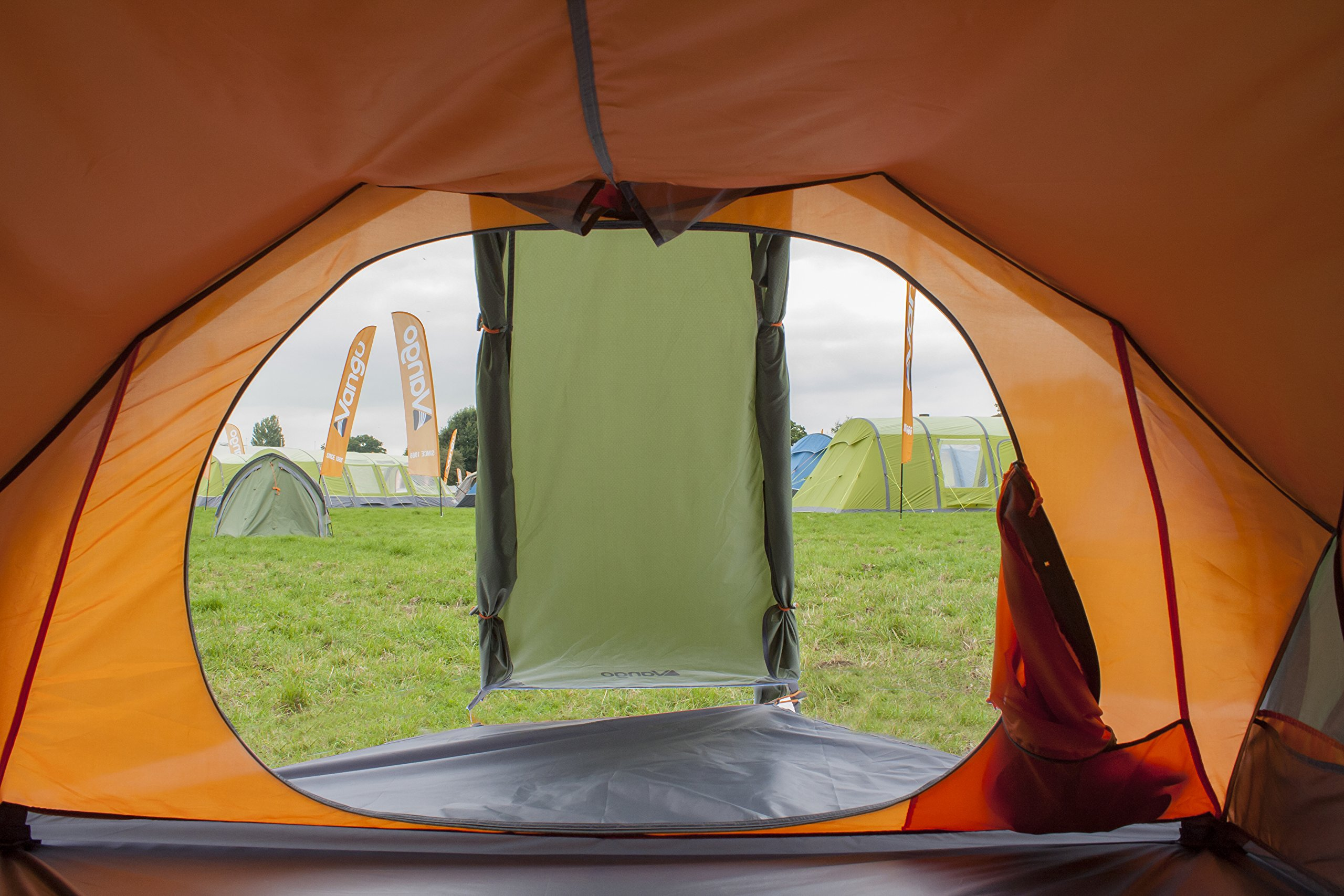 Vango Hydra Trekking Tent, Cactus Green, 200 3