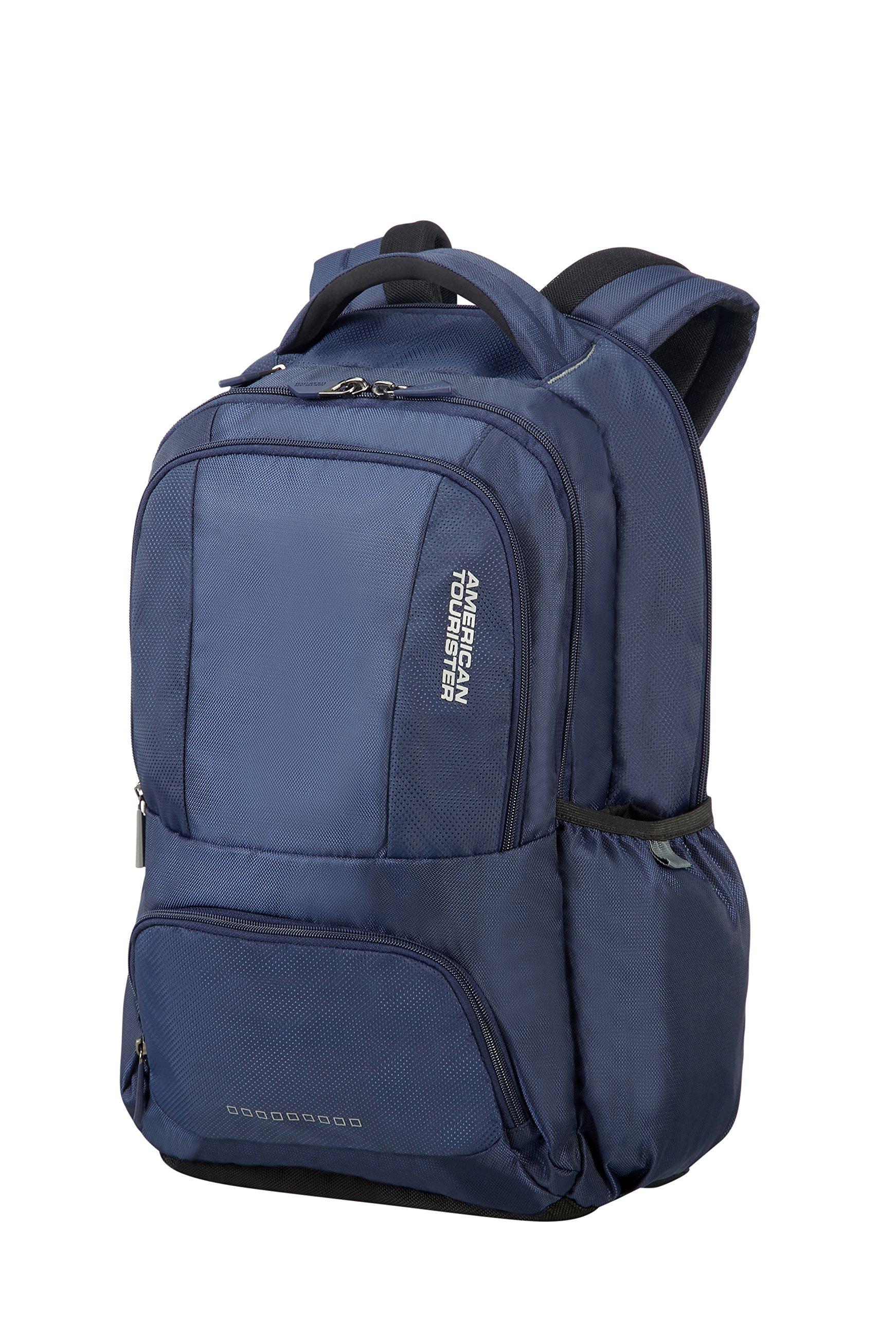 91T%2BSpG09EL - American Tourister Urban Groove - 15.6 pulgadas Mochila para portátil, 50 cm, 27 L, Azul (Blue)