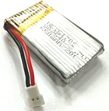Invento LiPo 3.7V 650 mAh Battery 1 cell for mini drones Quadcopter Helipcopter RC Plane