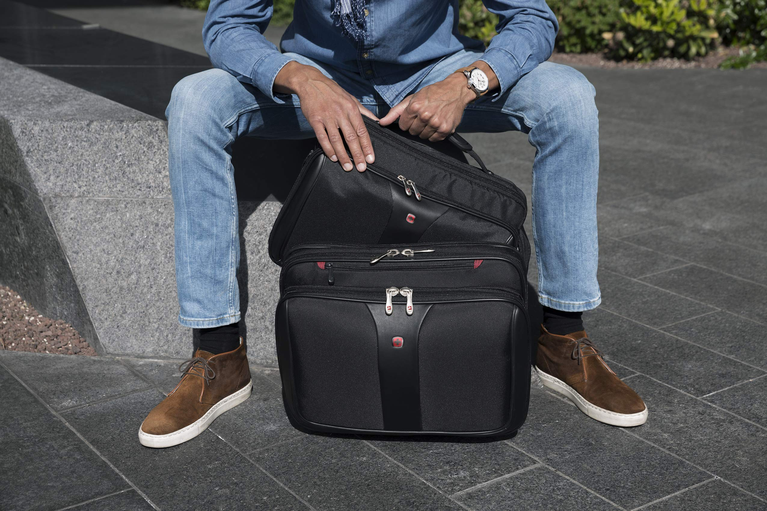 Wenger Maleta Patriot, 43 cm, 25 L, Negro