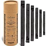 orinko - Binchotan Bio 6X   Charbon Actif Takesumi de Bambou pour Purification d'eau   Passez-Vous des Eaux en Bouteille avec
