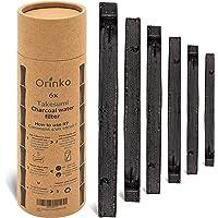 orinko - Binchotan Bio 6X | Charbon Actif Takesumi de Bambou pour Purification d'eau | Passez-Vous des Eaux en Bouteille…