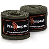 """Pro Impact Mexican Style Boxing Handwraps 180"""" with Closure – Elastic Hand & Wrist Support for Muay Thai Kickboxing…"""