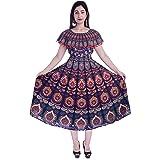 Jaipuri Fashionista Women's Tunic Maxi Dress