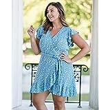The Drop Vestido Envolvente por @Caralynmirand Mujer