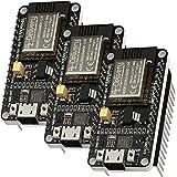 AZDelivery 3 x NodeMCU Amica Module V2 ESP8266 ESP-12F WIFI Wifi Development Board med CP2102 inklusive e-book