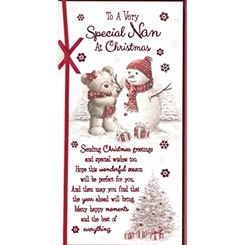 nan christmas card to a special nan with love have a wonderful christmas santa - And This Christmas Will Be A Very Special Christmas