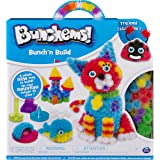 Bunchems- Bunch 'N Build Kit con Formine, 400 Pezzi, 6044156