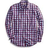 Amazon Brand - Goodthreads Men's Standard-fit Long-Sleeve Plaid Poplin Shirt