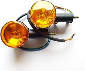 Blinker Blinkleuchten Hinten Rechts Links Z B Für Benzhou Yiying Yy50qt 26 Yy125t 26 Flex Tech Fun 50 Baotian Bt49qt 7 Bt125t 2 U A Hyosung Flex Tech Ering China Roller Gy6 Auto