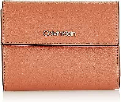 Calvin Klein Ck Must Trifold Wallet Md - Portafogli Donna