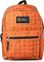 National Geographic Backpack for Men Orange,N09102.69