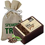 Speaking Tree Exfoliating Coffee Handmade Soap With Refreshing Aroma For Perfectly Clean, Brightening Skin (100 g)