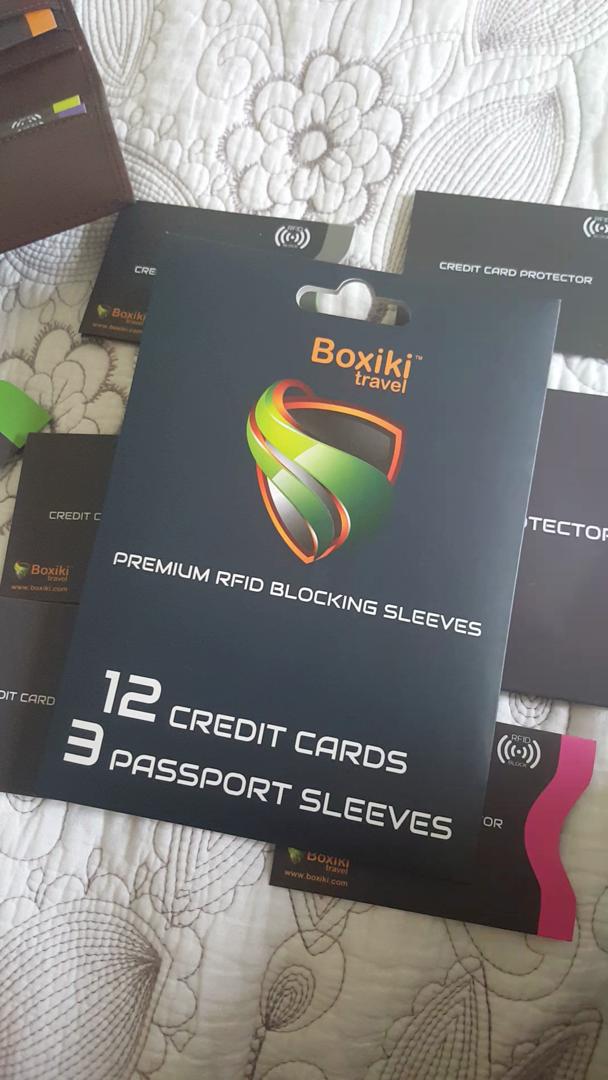 Kleidung & Accessoires Rfid Blocking Sleeves Kollea 18 Pack Credit Card Protector In Waterproof...