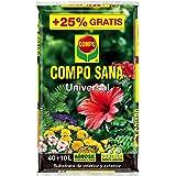 Compo Sana Universal 40+10L, Negro
