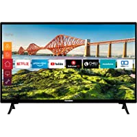 Telefunken XH24J501V 24 Zoll Fernseher (Smart TV inkl. Prime Video / Netflix / YouTube, HD ready, 12 Volt, Works with…