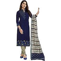 Miraan Women's Cotton Unstitched Dress Material (SGPRI1521)