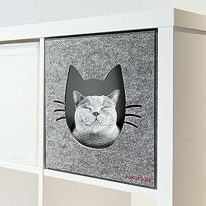 Katzenhöhle von Juhuka / Passend für IKEA® Kallax