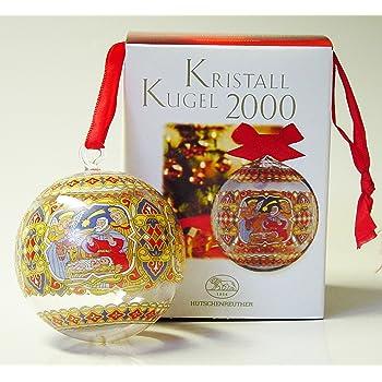 Weihnachtskugel  1999  Motiv Niederlande Hutschenreuther  Kristall