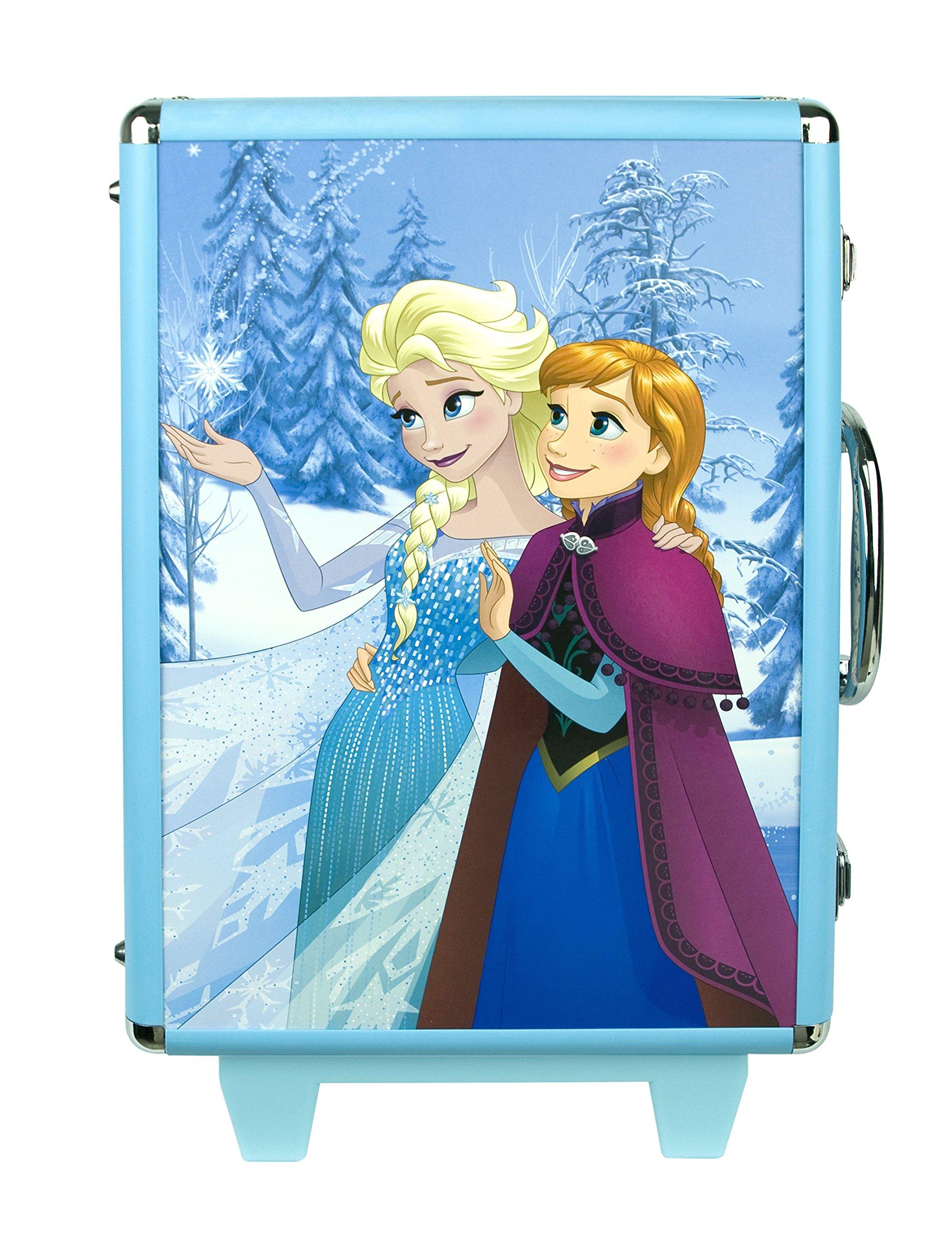 91TM44xERsL - Disney Frozen - Icy Adventures Beauty Trolley, pack de maquillaje (Markwins 9607310)
