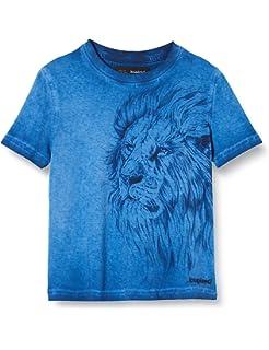 Desigual Boys Ts/_Angel Long-Sleeved Shirt