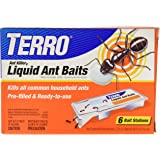 Terro Liquid Ant Killer Baits (6 Bait Stations, Net Contents 2.2fl oz/0.36 fl oz)