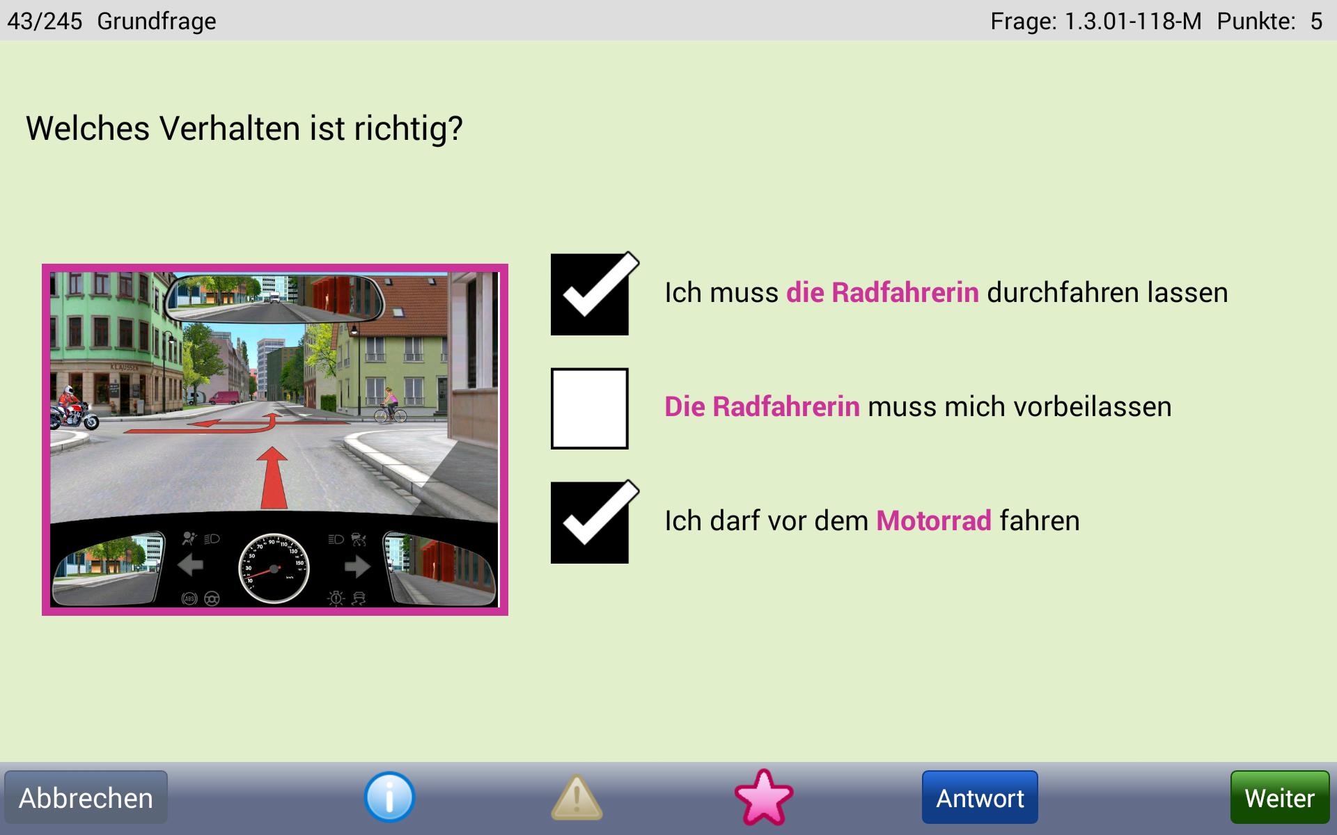 Fahrschule.de Führerschein 2017 Screenshot