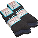 Set de 3o 6pares de calcetines polares térmicos, totalmente de rizo, gruesos y cálidos
