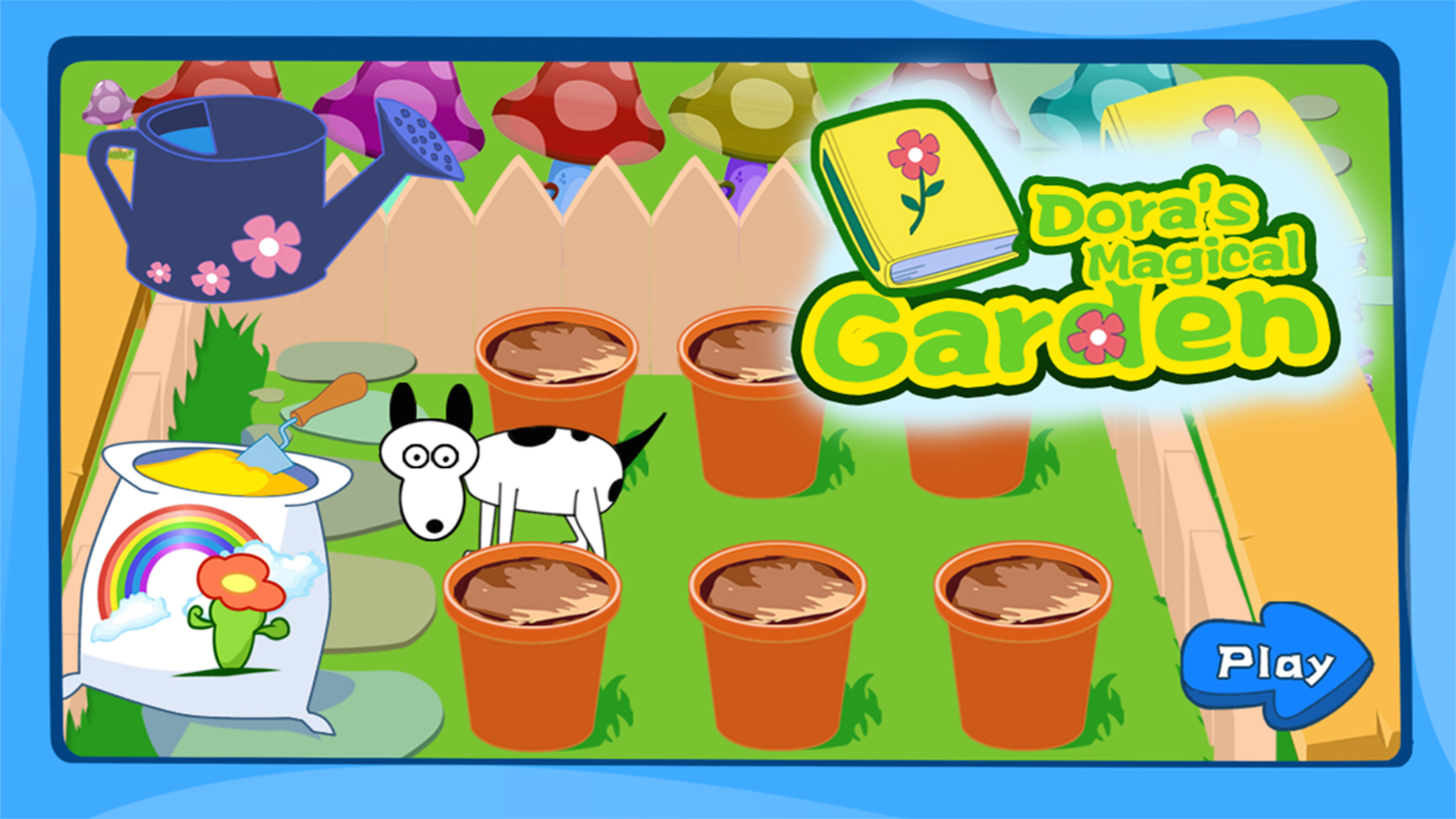 Dora's flowers planting garden free games for kids and ...