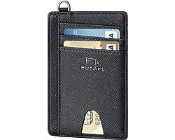 FurArt Slim Wallet ,RFID Blocking Card Wallet,Minimalist Credit Card Holder for Women&Men
