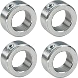 4 x stelringen voor 20 mm as/as verzinkt DIN705 A