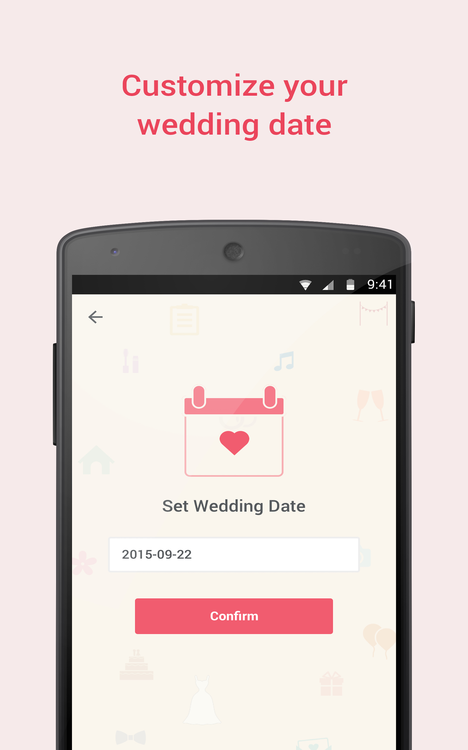 Ladymarry Wedding Planner Amazon Fr Appstore Pour Android