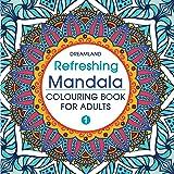 Refreshing Mandala- Colouring Book for Adults Book 1