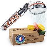 Aecodune XL Premium Filter Douchekop met Vitamine C | Universele Waterontharder met Essenties | Eco Spa Mineraal Filter | Sup