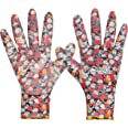 Lakeland Active 1 Pair Orton Weed & Seed Gardening Gloves - Floral Print - X-Small