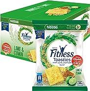 Nestle Fitness Toasties Lime & Cumin 36g Bag (12 Bags)