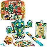 LEGO 41937 Dots Multi-Pack Ambiance Estivale – Set de 4-en-1 avec Bracelet, Cadre Photo, Accessoire de Sac et Pot à Crayon, A